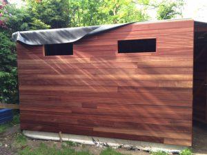 isolatie dak tuinhuis